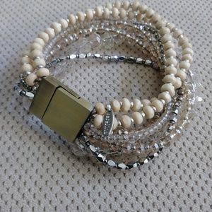Anthropologie bead bracelet